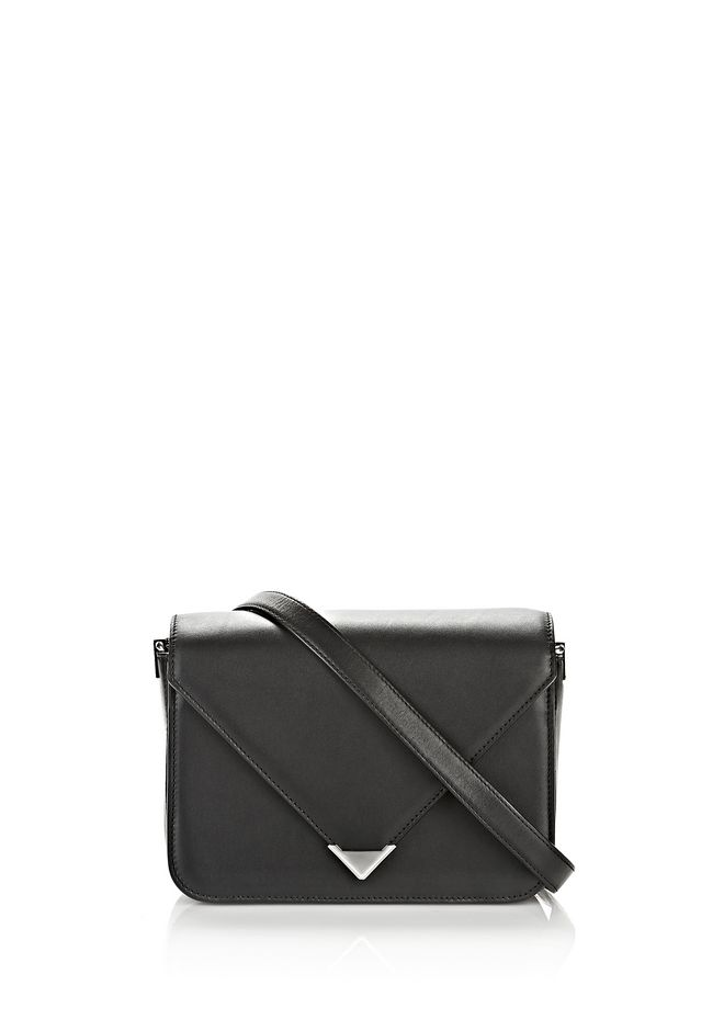 ALEXANDER WANG new-arrivals-bags-woman PRISMA ENVELOPE SLING IN BLACK WITH RHODIUM