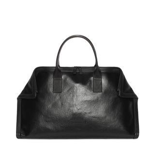 ALEXANDER MCQUEEN, Tasche, Schwarze Canvas De Manta Carry All Tasche