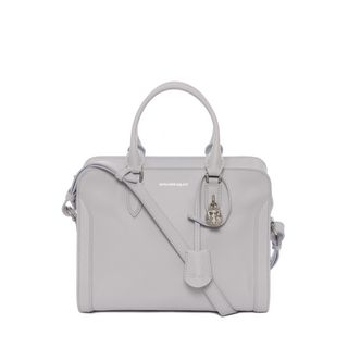 ALEXANDER MCQUEEN, Shoulder Bag, Grain Calf Small Padlock Zip Around