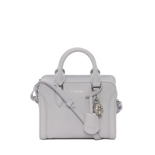 ALEXANDER MCQUEEN, Shoulder Bag, Grain Calf Mini Padlock