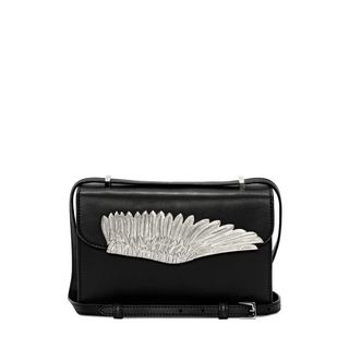 ALEXANDER MCQUEEN, Shoulder Bag, Nappa Leather Wing Satchel