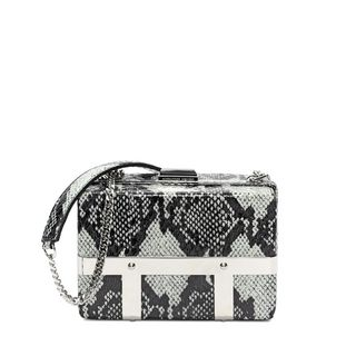 ALEXANDER MCQUEEN, Shoulder Bag, Snakeskin Caged Bag