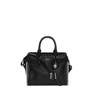 ALEXANDER MCQUEEN, Shoulder Bag, Grain Calf Leather Mini Padlock