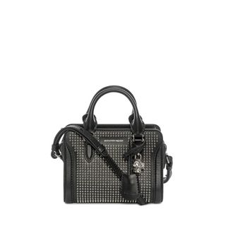 ALEXANDER MCQUEEN, Shoulder Bag, Calf Leather Mini Padlock