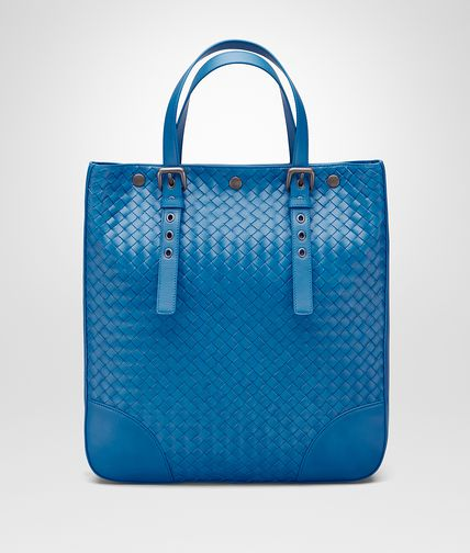 AQUATRE BAG IN BLUETTE INTRECCIATO VN