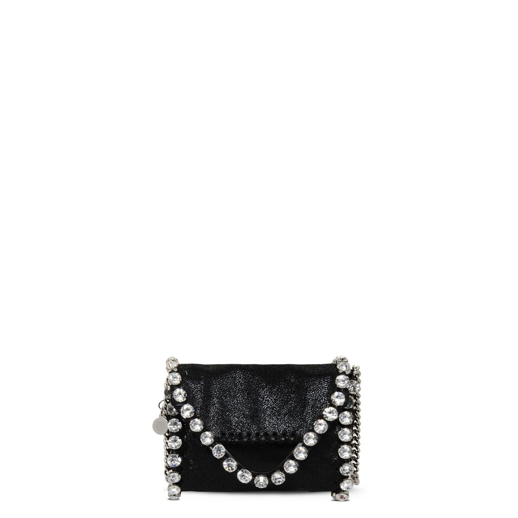 Falabella Tiny Fold Over Tote in Shaggy Deer