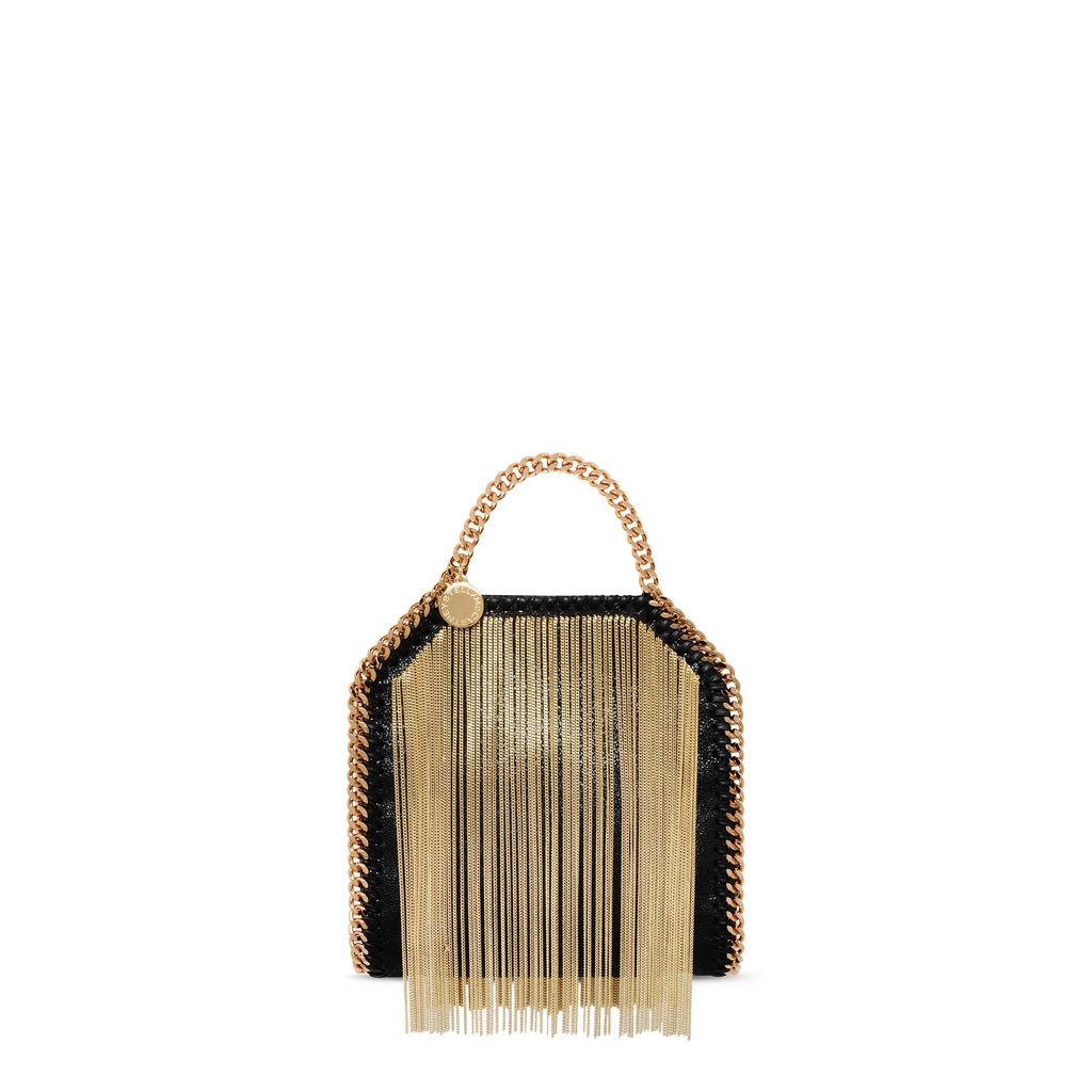 Falabella Chain Fringed Tiny Tote