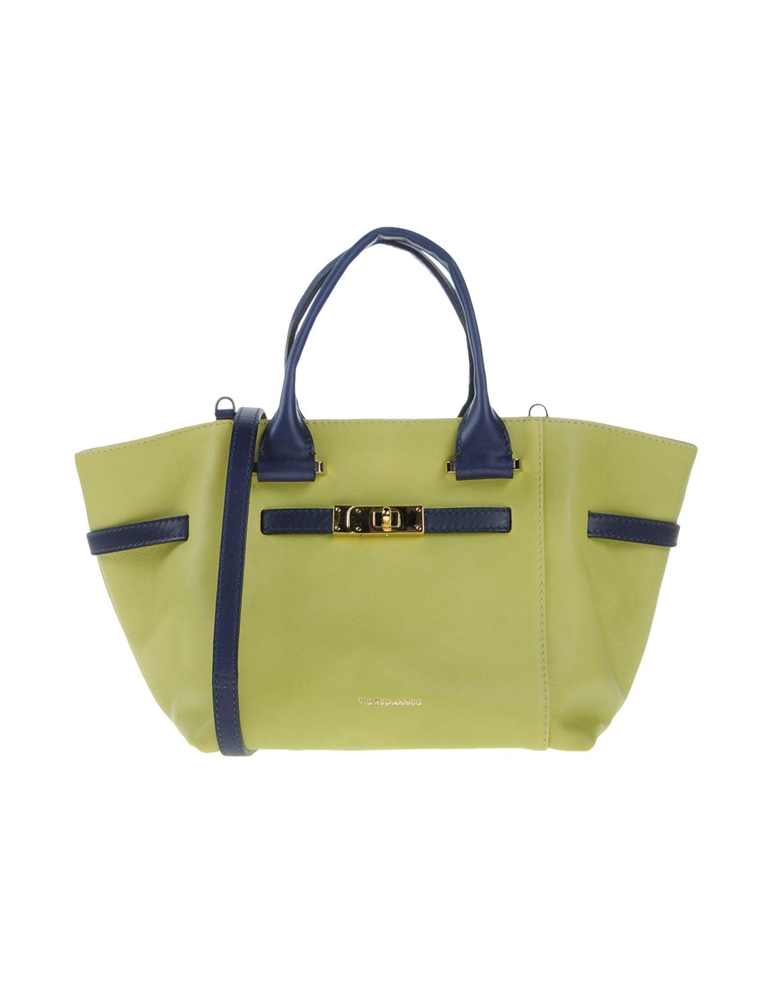 VIA REPUBBLICA Handbags