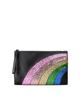 REDValentino Rainbow clutch