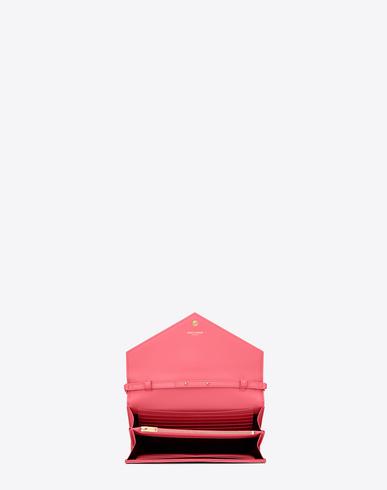 ... ysl shopper bag - classic medium kate monogram saint laurent satchel in  red grain de . 311ba321a3da9