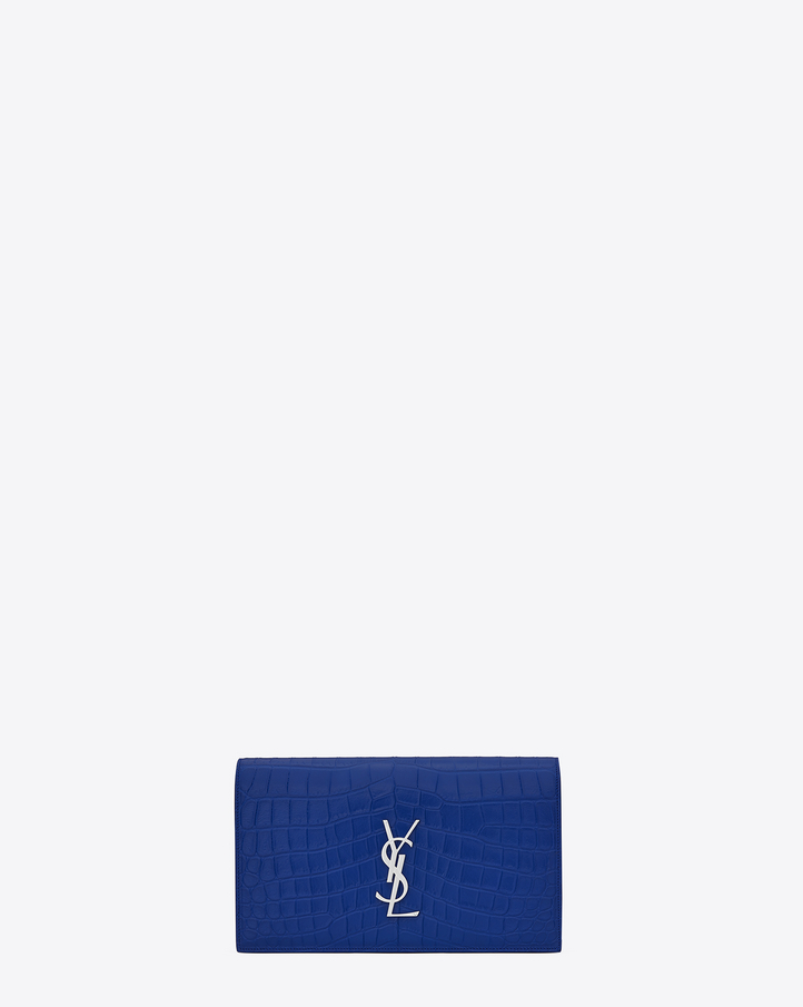 yves saint laurent monogram tassel clutch