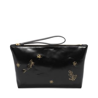 ALEXANDER MCQUEEN, Pouch, Lasercut Tattoo Big Zipped Pouch