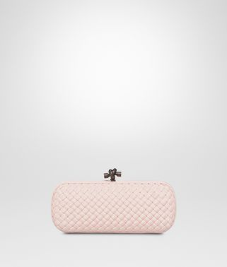 STRETCH KNOT CLUTCH IN PETALE
