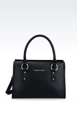 Armani Top handles Women bauletto bag in faux leather