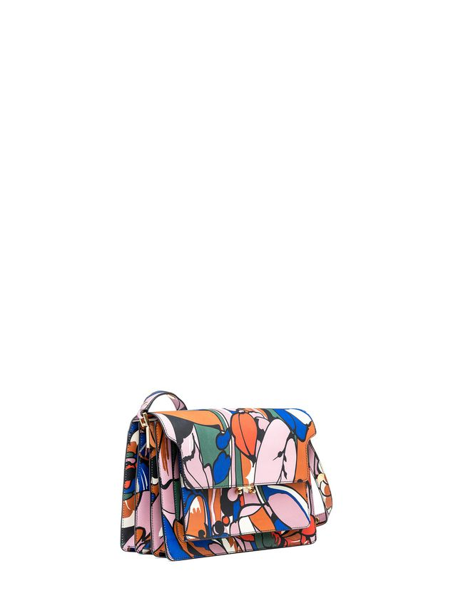 Marni TRUNK bag in shiny calfskin  Woman - 2