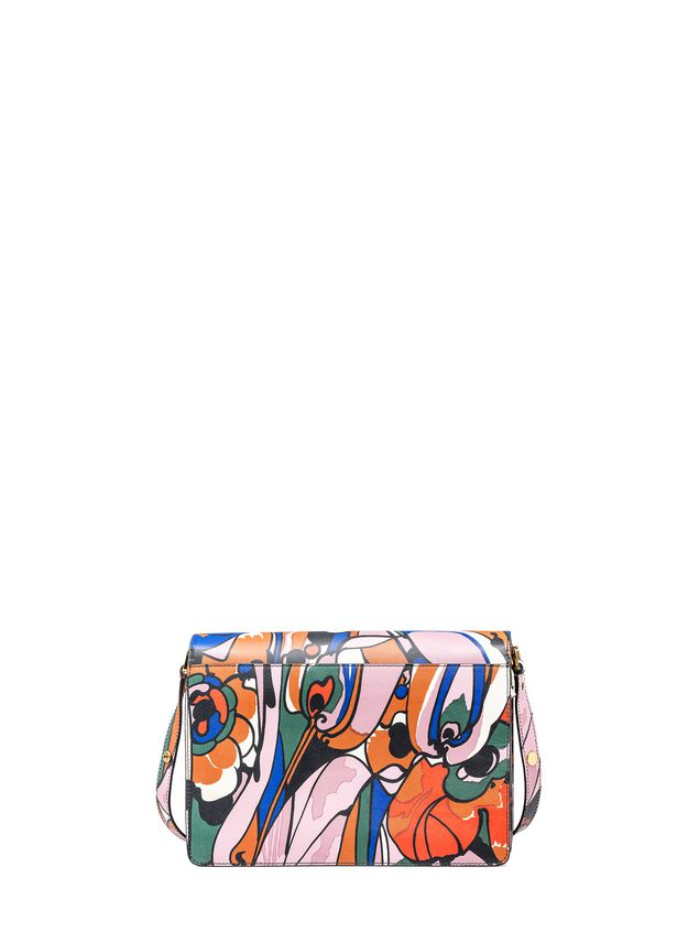 Marni TRUNK bag in shiny calfskin  Woman - 3