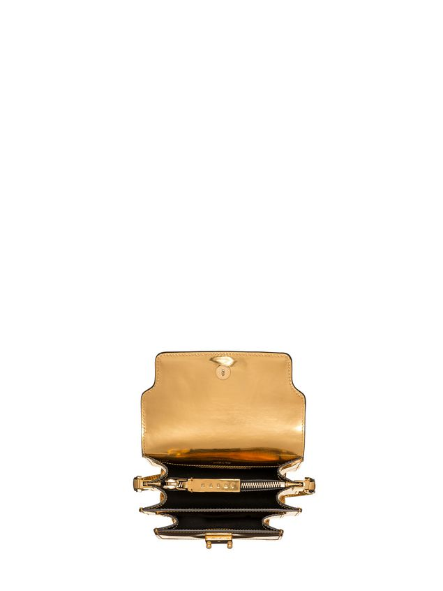 Marni MINI TRUNK bag in polished calfskin Woman - 4
