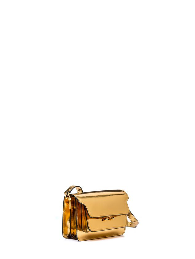 Marni MINI TRUNK bag in polished calfskin Woman - 2