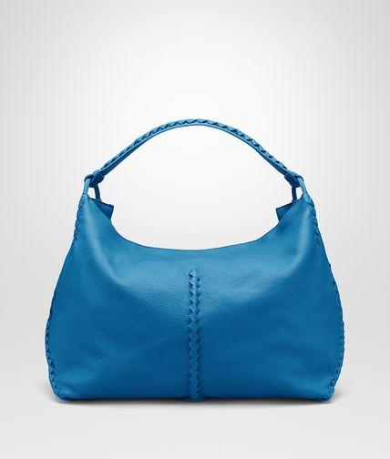 SHOULDER BAG IN BLUETTE CERVO