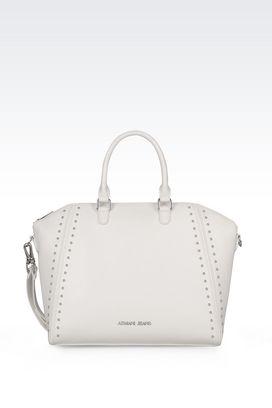 Armani Shopper Donna borsa shopping in ecopelle con borchie