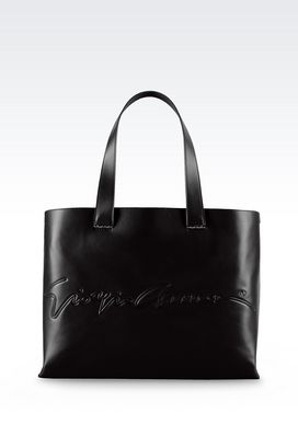 Armani Shoppers Women shopping bag ga signature edition