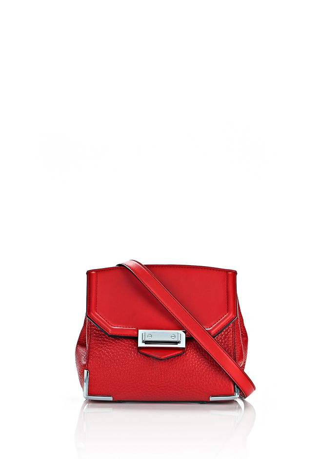 ALEXANDER WANG Shoulder bags Women MARION SLING IN PEBBLED CULT WITH RHODIUM
