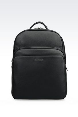 Armani Backpacks Men backpack in faux leather