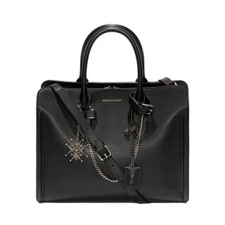 ALEXANDER MCQUEEN, Tote, Chain Medallion Chains & Charms Heroine Open Tote