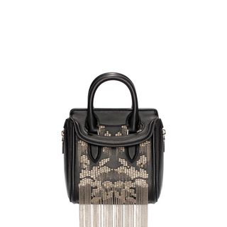 ALEXANDER MCQUEEN, Shoulder Bag, Nappa Chain Embroidery Mini Heroine