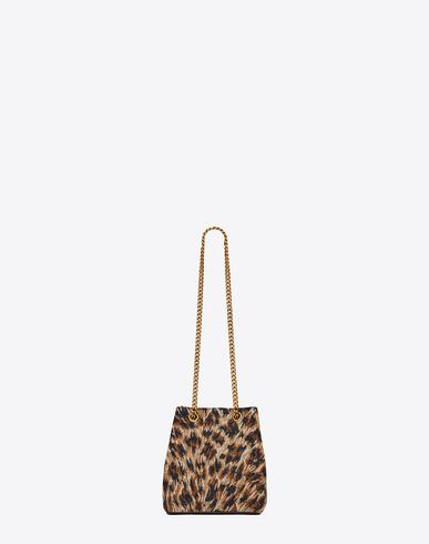 yvessaintlaurent handbags - classic baby monogram saint laurent chain bag in natural and black ...