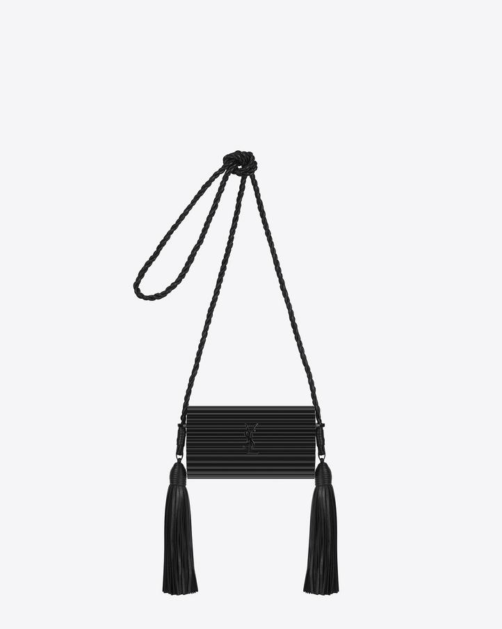 ysl handbags outlet - Saint Laurent OPIUM MINAUDI��RE Bag In Black Glossy Plexiglas And ...