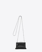 Petit sac BIJOUX en cuir noir