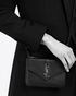 ysl clutch bags sale - Saint Laurent YSL Tri Pocket Bag In Black Leather   YSL.com