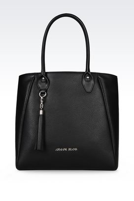 Armani Shopper Donna borsa shopping in ecopelle bottalata
