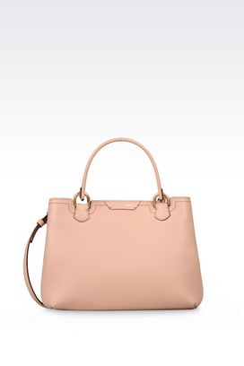 Armani Shopper Donna borsa shopping piccola in vitello stampa cervo