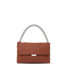 Brandy Becks Weaved Shoulder Bag