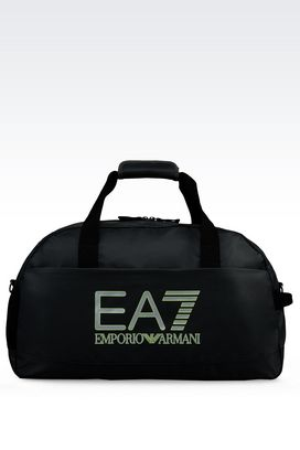 Armani Holdalls Men gym bag with detachable shoulder strap