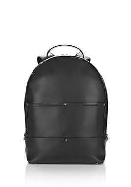 MASON BACKPACK IN BLACK WITH RHODIUM