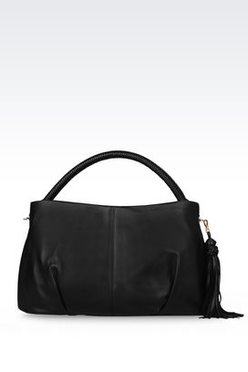 Armani Hobo bags Women hobo bag in lambskin