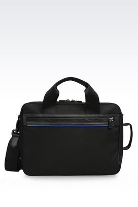 Armani Satchels Men briefcase in nylon