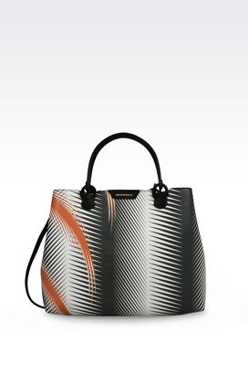 Armani Shopper Donna borsa shopping in vitello saffiano