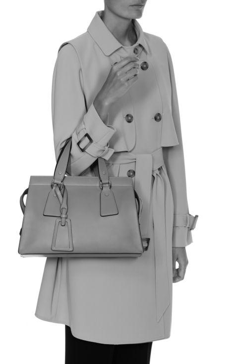 """СРЕДНЯЯ СУМКА """"LE SAC 11"""" ИЗ ГЛАДКОЙ ТЕЛЯЧЬЕЙ КОЖИ: Сумки с короткими ручками Для Женщин by Armani - 2"""