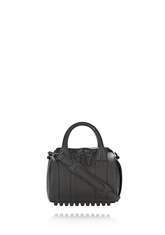 ALEXANDER WANG new-arrivals-bags-woman MINI ROCKIE IN MATTE BLACK