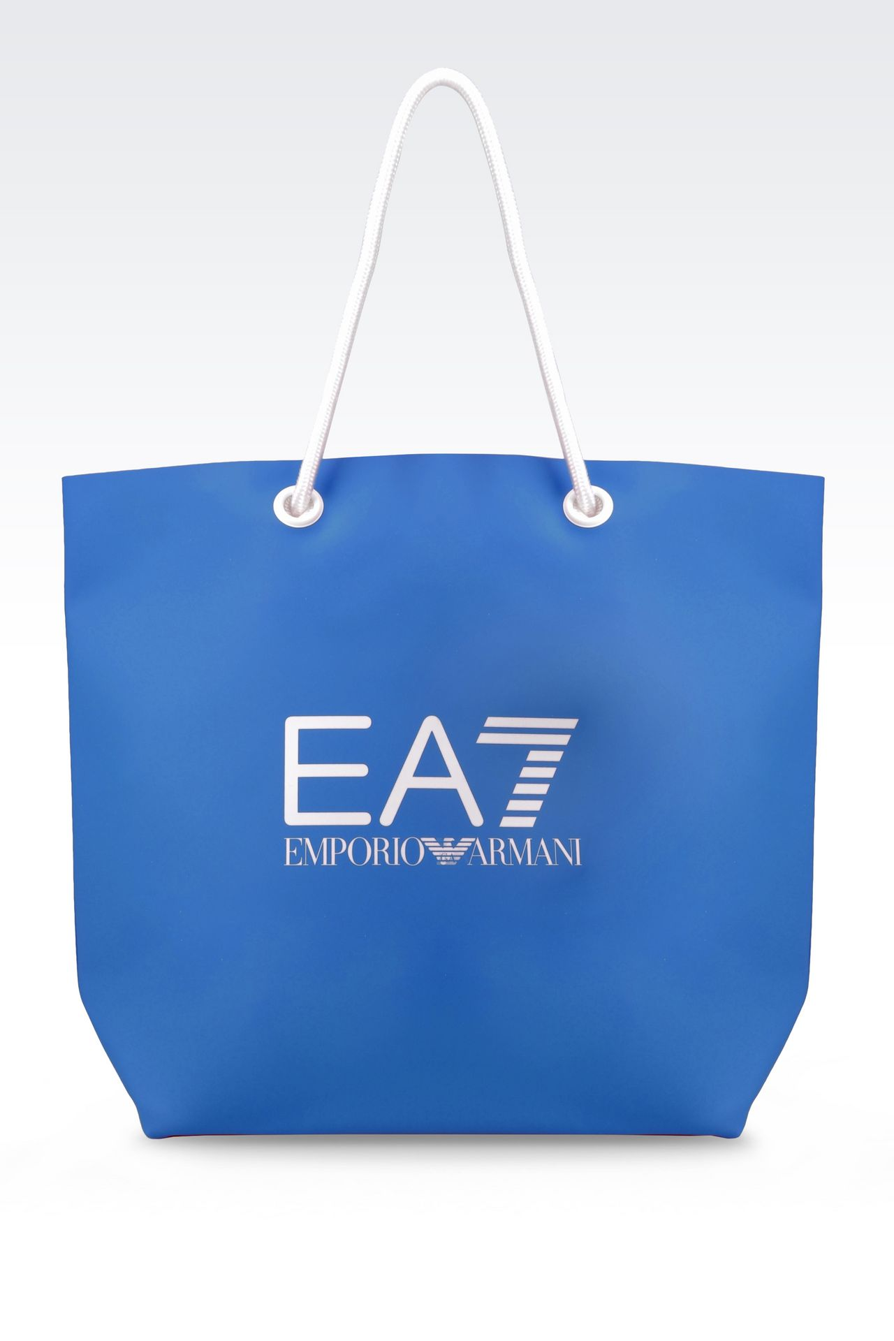 EA7 Women SEA WORLD LINE BEACH BAG , PVC - Armani.com