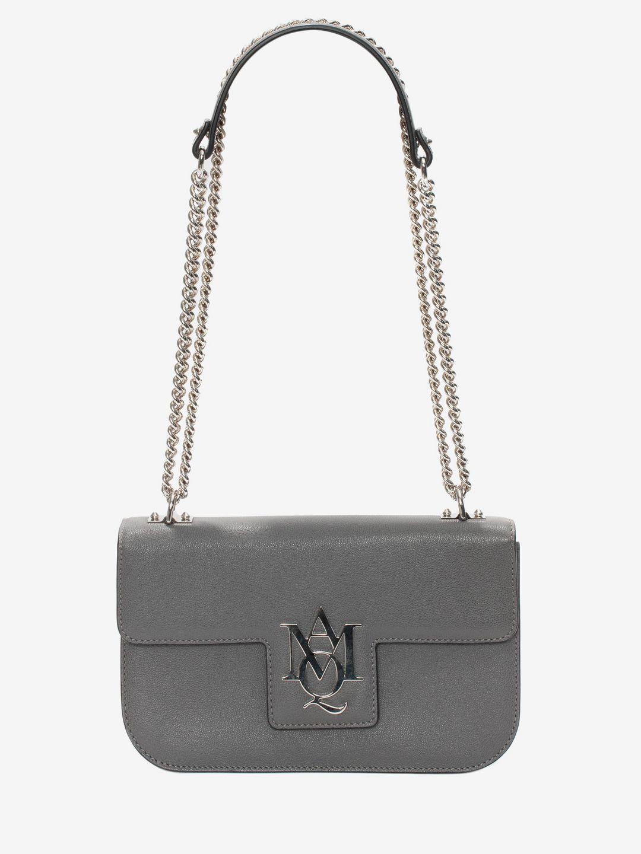 alexander mcqueen female 129061 alexander mcqueen chain satchels item 45305378