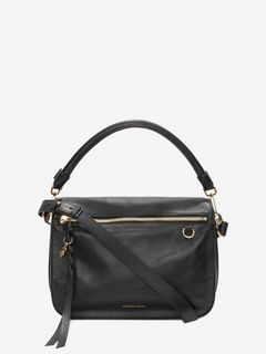 Calf Leather Skull Shoulder Bag