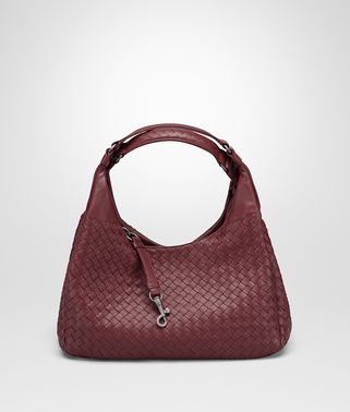 MEDIUM CAMPANA BAG IN BAROLO INTRECCIATO NAPPA