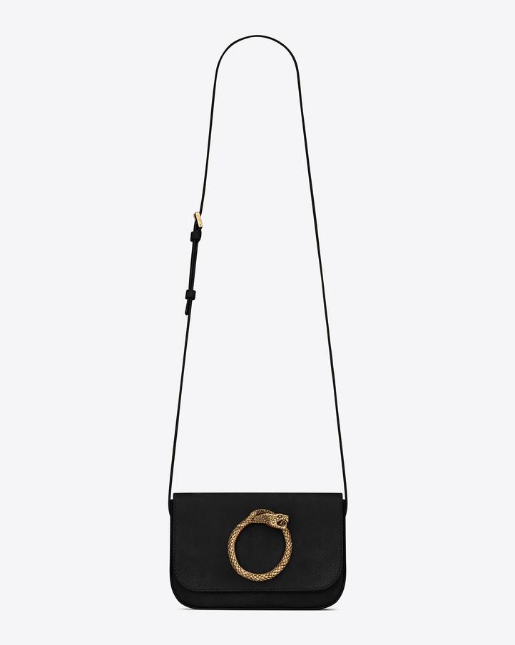 yves saint laurent handbags outlet - Saint Laurent EDDIE Serpent Satchel In Black Vintage Leather | YSL.com