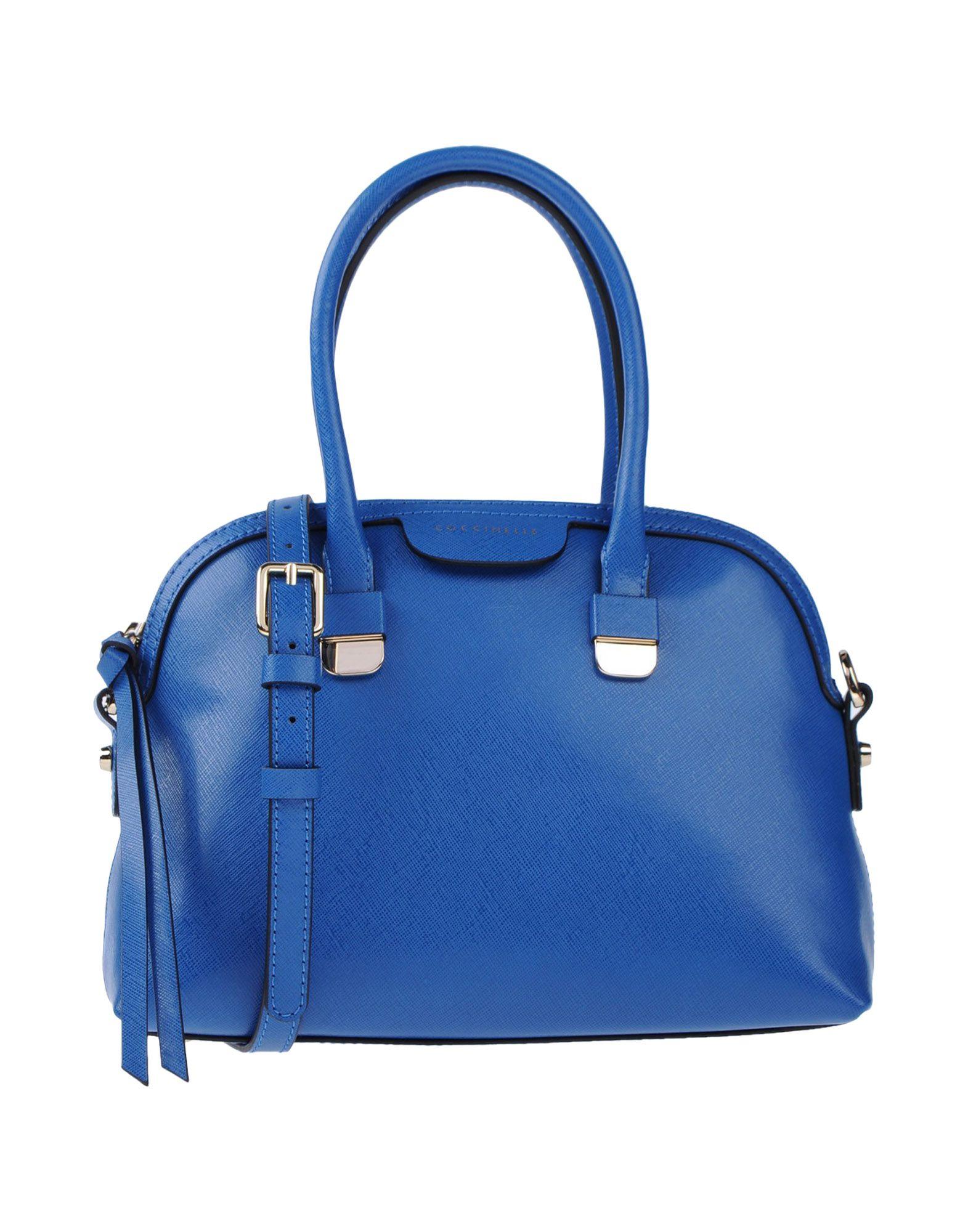 COCCINELLE Damen Handtaschen Farbe Blau Größe 1
