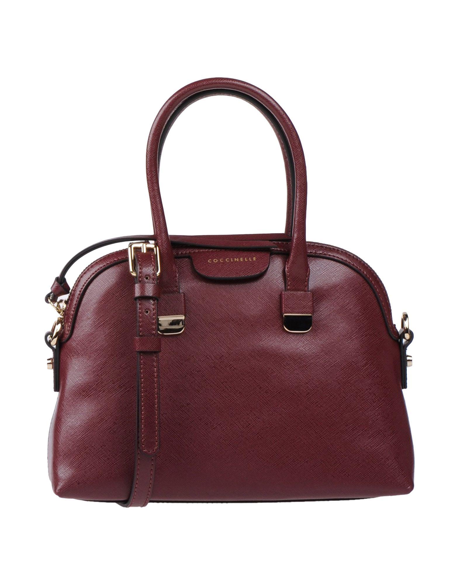 COCCINELLE Damen Handtaschen Farbe Pflaume Größe 1